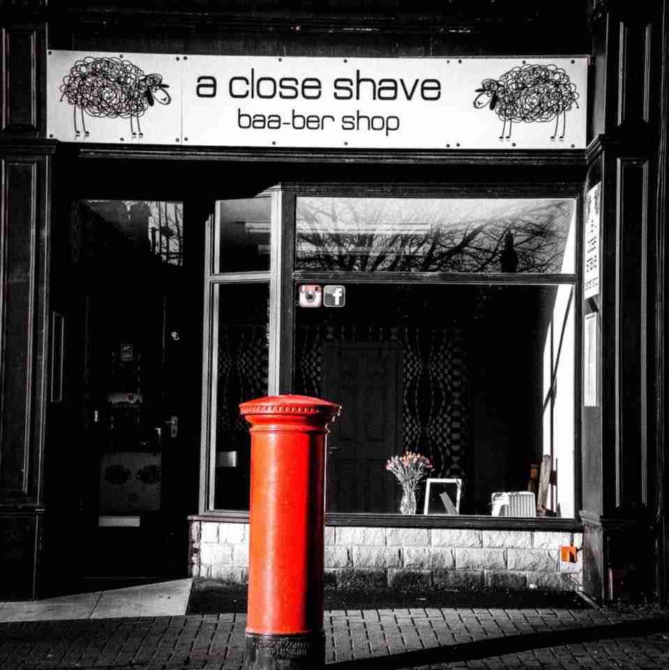 A Close Shave Logo